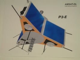 p3e Photo of 2m / 70cm satellite antenna. While I've made a point elsewhere that ...